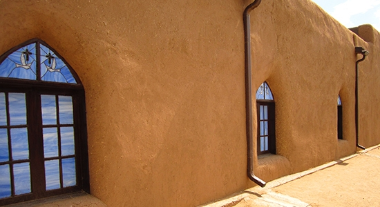 Adobe/Blue, Taos Pueblo