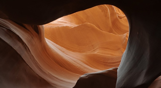 Rolling Waves, Lower Antelope Slot Canyon Near Page, AZ