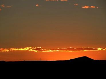 Sunset in Taos: Simple, Serene, Stunning